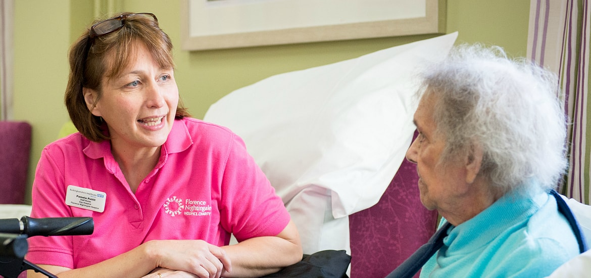 The Day Hospice at Florence Nightingale Hospice Aylesbury provides social, emotional and medical support for people with life-limiting illnesses. It is funded by Florence Nightingale Hospice Charity.